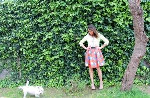 """Jacket,Mariella Rosati negozio """"Mary Boutique""""Skirt,MSGM negozio  """"Marella"""";Reggio Cal..."""